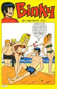 Cover Thumbnail for Binky (Semic, 1976 series) #1/1984
