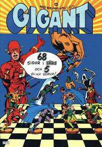 Cover Thumbnail for Gigant (Williams Förlags AB, 1969 series) #2/1976