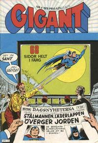 Cover Thumbnail for Gigant (Williams Förlags AB, 1969 series) #4/1976