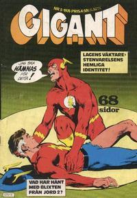 Cover Thumbnail for Gigant (Semic, 1976 series) #5/1976
