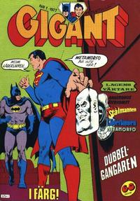 Cover Thumbnail for Gigant (Semic, 1976 series) #1/1977