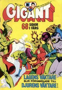 Cover Thumbnail for Gigant (Semic, 1976 series) #3/1977