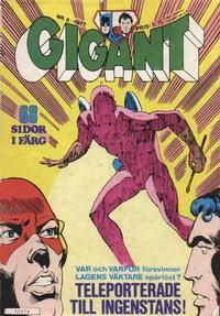 Cover Thumbnail for Gigant (Semic, 1976 series) #6/1977