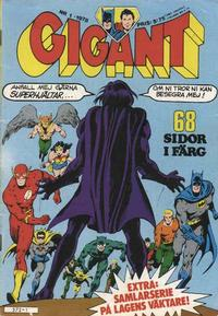 Cover Thumbnail for Gigant (Semic, 1976 series) #1/1978