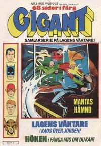 Cover Thumbnail for Gigant (Semic, 1976 series) #3/1978
