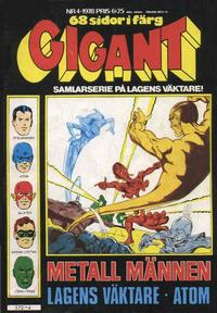 Cover Thumbnail for Gigant (Semic, 1976 series) #4/1978
