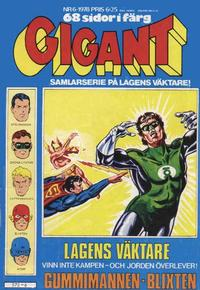 Cover Thumbnail for Gigant (Semic, 1976 series) #6/1978