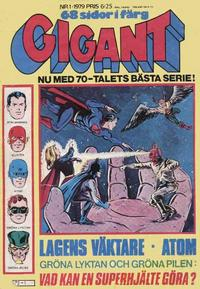 Cover Thumbnail for Gigant (Semic, 1976 series) #1/1979