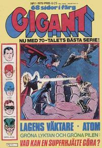Cover Thumbnail for Gigant (Semic, 1976 series) #1/1979