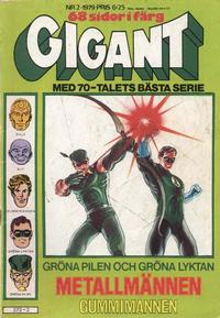 Cover Thumbnail for Gigant (Semic, 1976 series) #2/1979