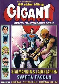Cover Thumbnail for Gigant (Semic, 1976 series) #4/1979