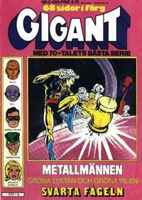 Cover Thumbnail for Gigant (Semic, 1976 series) #6/1979