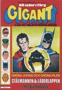 Cover Thumbnail for Gigant (Semic, 1976 series) #7/1979