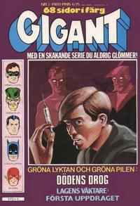 Cover Thumbnail for Gigant (Semic, 1976 series) #3/1980