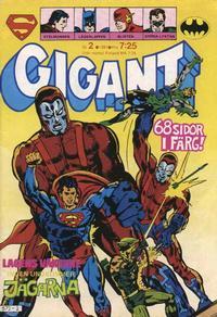 Cover Thumbnail for Gigant (Semic, 1976 series) #2/1981