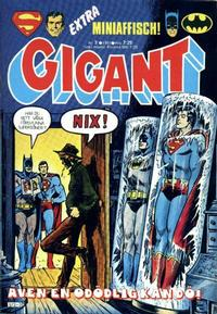 Cover Thumbnail for Gigant (Semic, 1976 series) #3/1981