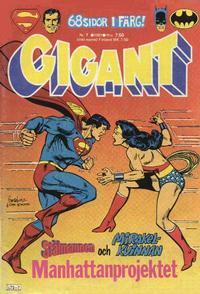 Cover Thumbnail for Gigant (Semic, 1976 series) #7/1981