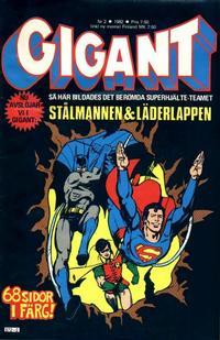 Cover Thumbnail for Gigant (Semic, 1976 series) #2/1982