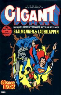 Cover Thumbnail for Gigant (Semic, 1976 series) #2/1982