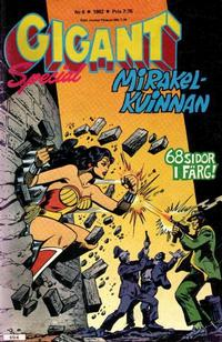 Cover Thumbnail for Gigant (Semic, 1976 series) #6/1982