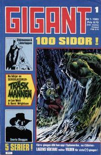 Cover Thumbnail for Gigant (Semic, 1976 series) #1/1983