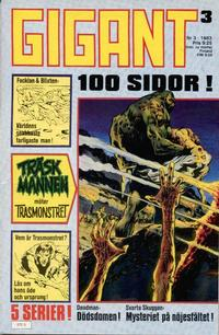 Cover Thumbnail for Gigant (Semic, 1976 series) #3/1983