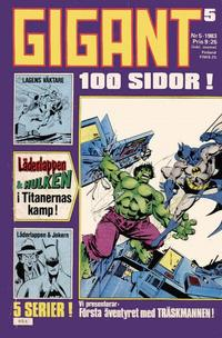 Cover Thumbnail for Gigant (Semic, 1976 series) #5/1983