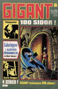 Cover Thumbnail for Gigant (Semic, 1976 series) #6/1983