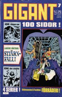 Cover Thumbnail for Gigant (Semic, 1976 series) #7/1983