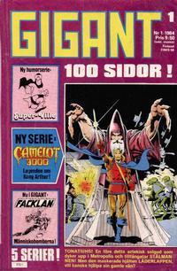Cover Thumbnail for Gigant (Semic, 1976 series) #1/1984