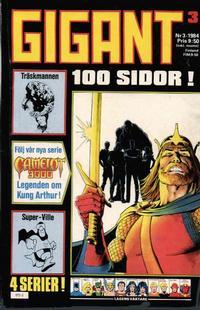 Cover Thumbnail for Gigant (Semic, 1976 series) #3/1984