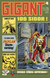 Cover Thumbnail for Gigant (Semic, 1976 series) #4/1984