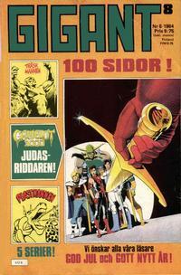Cover Thumbnail for Gigant (Semic, 1976 series) #8/1984