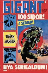 Cover Thumbnail for Gigant (Semic, 1976 series) #7/1985
