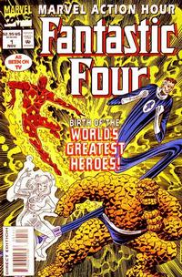 Cover Thumbnail for Marvel Action Hour, Featuring the Fantastic Four (Marvel, 1994 series) #1 [Deluxe Direct Edition]