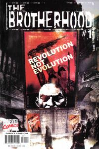 Cover Thumbnail for The Brotherhood (Marvel, 2001 series) #1 [Direct Edition]