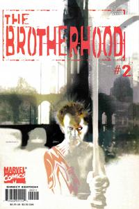 Cover Thumbnail for The Brotherhood (Marvel, 2001 series) #2 [Direct Edition]