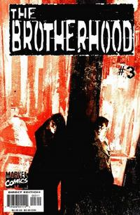 Cover Thumbnail for The Brotherhood (Marvel, 2001 series) #3 [Direct Edition]