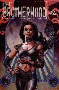 Cover Thumbnail for The Brotherhood (Marvel, 2001 series) #4 [Direct Edition]