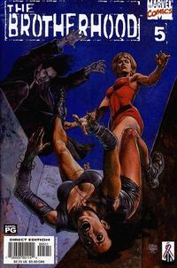 Cover Thumbnail for The Brotherhood (Marvel, 2001 series) #5 [Direct Edition]