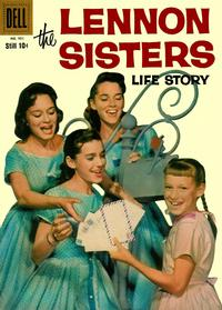 Cover for Four Color (Dell, 1942 series) #951 - The Lennon Sisters Life Story