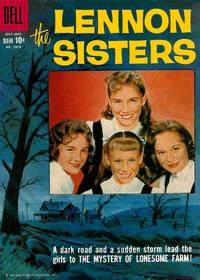 Cover Thumbnail for Four Color (Dell, 1942 series) #1014 - The Lennon Sisters