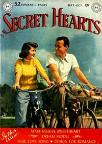 Cover Thumbnail for Secret Hearts (DC, 1949 series) #1