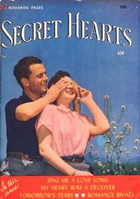 Cover Thumbnail for Secret Hearts (DC, 1949 series) #3