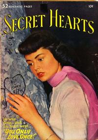 Cover Thumbnail for Secret Hearts (DC, 1949 series) #4