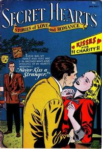 Cover Thumbnail for Secret Hearts (DC, 1949 series) #7