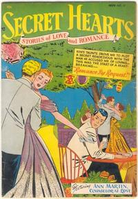 Cover Thumbnail for Secret Hearts (DC, 1949 series) #12