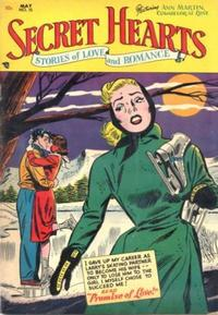 Cover Thumbnail for Secret Hearts (DC, 1949 series) #15