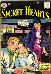 Cover Thumbnail for Secret Hearts (DC, 1949 series) #56