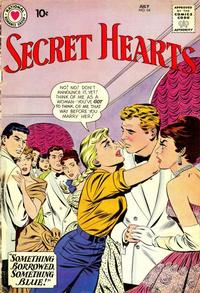 Cover for Secret Hearts (DC, 1949 series) #64